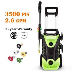 Best Homdox Pressure Washer Reviews, Electric Pressure Washer High Pressure Washer 2.6 GPM 1800W Professional Electric Power Washer Cleaner Machine with 4 Nozzles