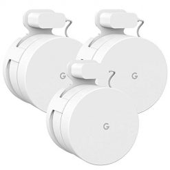 Google WiFi Wall Mount Outlet Bracket Hanger Holder Case Stand for Google Router and Beacons System, Space Saving Accessories Without Messy Wires or Screws (GWF003), 3 Pack, White by WALI