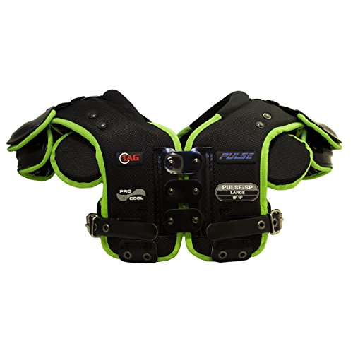 Best Youth Quarterback Shoulder Pads On Amazon. TAG PULSE-SP Skill Position Football Shoulder Pad for Quarterback, Wide Receiver, Defensive Back, Corner, Safety (Medium)