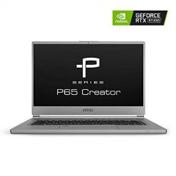 Best Laptop For Artificial Intelligence (AI), Machine and Deep Learning At Amazon, MSI P65 Creator-1084 15.6