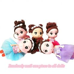 Cute Princess Dolls Women Girls Bag Pendant with Key Chain