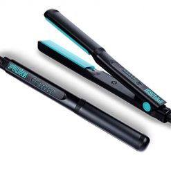 BEAUTIROX Flat Hair Straightener,Professional Iron with adjustable Temp for Straightening and Curls,Black