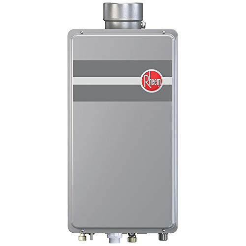 Rheem RTG-70DVLN-1 160,000 BTU Natural Gas Mid Efficiency Indoor Tankless Water Heater