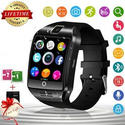 Kid Smart Watch Sim Card At Amazon, Smart Watch for Android Phones with Camera SIM Card Slot Touch Screen Unlocked Phones Watch Waterproof Smart Watch Fitness Tracker Compatible for Android iOS Smartphones Samsung Huawei for Men Women