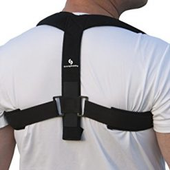 Best Upper Back Posture Brace At Amazon, StrictlyStability Upper Back Posture Corrector Brace and Clavicle Support for Fractures, Sprains, and Shoulders (Large)