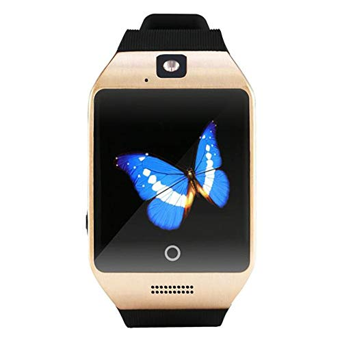 Android Watch Text Message. Hot Sale! Smart Watch with Camera, NDGA 2019 Q18 Blue-Tooth Smart Watch GSM TF Card Phone Wrist Watch for Android (Gold)