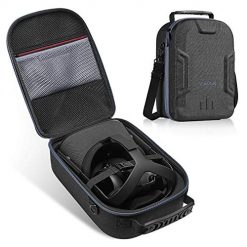 Vanerdun Case for Oculus Quest All-in-one VR Gaming Headset - Oculus Quest Travel case, Virtual Reality Protective Bag