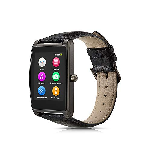 "Le Pan L11-Gunmetal 1.6"" Touchscreen Smartwatch for Android and iOS, Gunmetal"