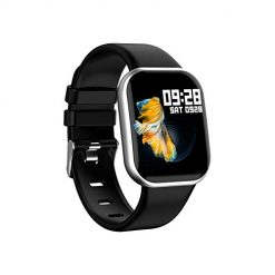 What Smartwatches Can You Text On? Smart Watch for Android iOS Phones Fitness Tracker Watch IP67 Waterproof Smartwatch for Men Women (Silver)