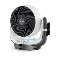 FOCHEA Air Circulator Fan Powerful Oscillating Desk Fan/Table Fan Enhanced Airflow Multi-Mode with Remote Control,8 Speeds Adjustable, 90 Degree Head Swing & 7 Kinds of Timer Setting for Home Office