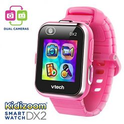 Best Smart Watches For Kid At Amazon, VTech Kidizoom Smartwatch DX2, Pink