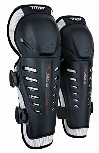 Best Knee And Shin Guards For Motorcycles, Fox Racing 2014 Youth Titan Race Knee/Shin Guards (Black)