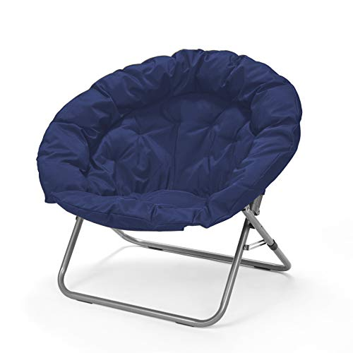 Best Extra Large Moon Chairs For Adults At Amazon, Navy Large Oversized Folding Moon Chair
