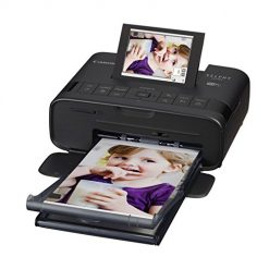 4x6 Photo Printer, Canon SELPHY CP1300 Wireless Compact Photo Printer with AirPrint and Mopria Device Printing, Black (2234C001)