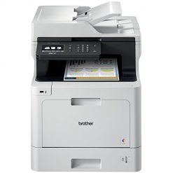 Best Printer For Label Printing At Amazon, Brother Color Laser Printer, Multifunction Printer, All-in-One Printer, MFC-L8610CDW, Wireless Networking, Automatic Duplex Printing, Mobile Printing and Scanning, Amazon Dash Replenishment Enabled