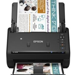 Best Single Pass Duplex Scanning Printer, Epson WorkForce ES-500W Wireless Color Duplex Document Scanner for PC and Mac, Auto Document Feeder (ADF)