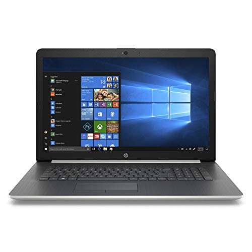 "Best Laptops For CAD And Photoshop At Amazon, HP 17.3"" HD+ SVA WLED-Backlit Notebook Laptop, Intel Core i5-8250U up to 3.4GHz, 24GB Memory: 16GB Intel Optane + 8GB DDR4, 2TB HDD, DVD, Webcam, Backlit Keyboard, Bluetooth, Windows 10 Home, Silver"