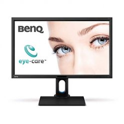 Monitor Good For Eyes At Amazon, BenQ BL2711U 27-Inch IPS 4K Monitor, 3840x2160, sRGB, and Rec.709, CAD/CAM , 60Hz refresh rate
