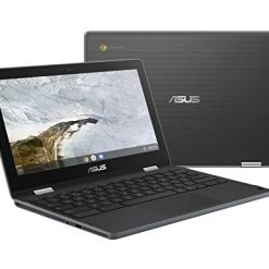 Asus Chromebook Flip C214MA-YS02T-S Ruggedized and Water Resistant Chromebook Laptop, 11.6