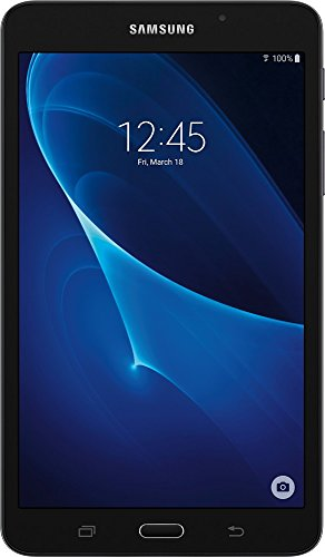 Best Tablet For Browsing The Web Under $100 At Amazon, Samsung Galaxy Tab A 7-Inch Tablet (8 GB,Black) (Renewed)