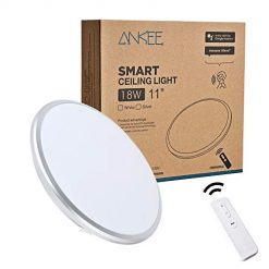 Best ANKEE Smart LED Ceiling Light At Amazon, 18W - No Hub Required 11