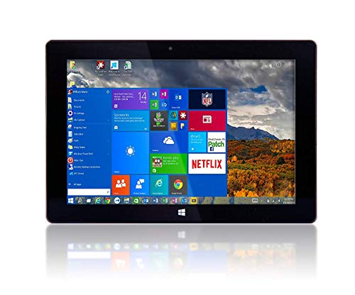 "Best Tablet For Just Surfing The Web Under $200 At Amazon, 10"" Fusion5 Ultra Slim Windows Tablet PC- (2GB RAM, 64GB Storage, Full Size USB 3.0, Intel Quad-core, Dual Cameras, HDMI, Bluetooth, Windows 10 Home Tablet Computer)"