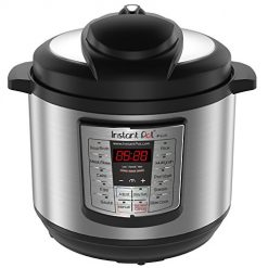 Upcoming Amazon deal Ff The Day, Instant Pot Lux 80 Japanese Electric Pressure Cooker, 8 Quart, Stainless Steel/Black