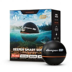 Deeper Discounts At Amazon, Deeper PRO+ Smart Sonar - GPS Portable Wireless Wi-Fi Fish Finder for Shore and Ice Fishing