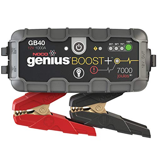 #1 Best Seller in Jump Starters At Amazon, Space Key Jump Starter, NOCO Boost Plus GB40 1000 Amp 12-Volt UltraSafe Portable Lithium Car Battery Jump Starter Pack for Up to 6 Gasoline and 3-Liter Diesel Engines
