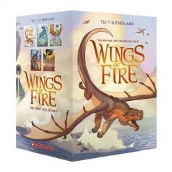 Wings of Fire Series, Boxset, Books 1-5 (Wings of Fire)