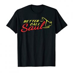 Better Call Saul Scales Of Justice Chest Logo T-Shirt