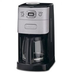 Grind-and-Brew Coffeemaker, Cuisinart DGB-625BC 12-Cup Automatic, Brushed Metal