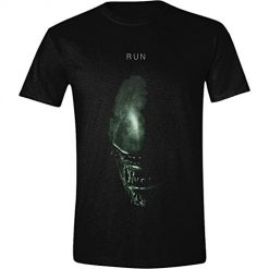 Alien - Covenant Alien Face Run Men T-Shirt - Black Large Small
