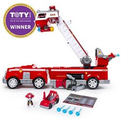 PAW Patrol Fire Truck Ultimate Rescue with Extendable 2 Foot Tall Ladder, Ages 3 and Up