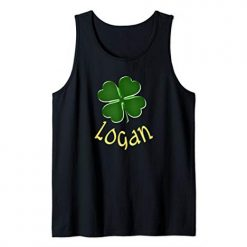 Logan Irish Name St. Patrick's Day Gift Tank Top