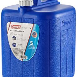 Best 5 Gallon Water Jug At Amazon, Coleman Jug With Water Carrier, 5 Gallons, Blue