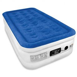 SoundAsleep Dream Series Air Mattress with ComfortCoil Technology & Internal High Capacity Pump - Twin Size