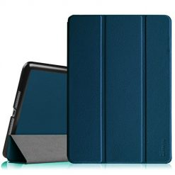 Fintie iPad Air 2 Case SlimShell, Ultra Lightweight Stand Smart Protective Cover with Auto Sleep/Wake Feature for Apple iPad Air 2, Navy