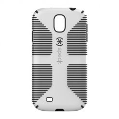 Samsung Galaxy S4 Case, Speck Products CandyShell Grip - White/Black