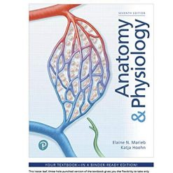 Mastering Anatomy and Physiology, Anatomy & Physiology, Loose-Leaf Plus Mastering A&P with Pearson eText - Access Card Package (7th Edition) 7th Edition by Elaine N. Marieb (Author), Katja N. Hoehn (Author)
