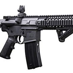 Full Auto BB Gun. DPMS Full Auto SBR CO2-Powered BB Air Rifle with Dual Action Capability