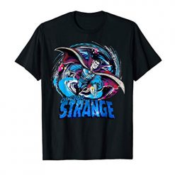 Marvel Doctor Strange Classic Retro Magic Warp Logo Best T-Shirt At Amazon