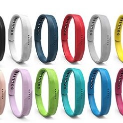Fitbit Flex 2 Bands. BeneStellar 12 Colors Fitbit Flex 2 Band, Bracelet Strap Replacement Band for Fitbit Flex 2