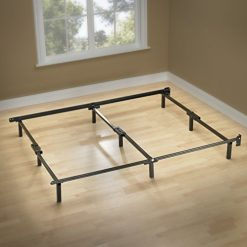 California King Bed Frame. Zinus Michelle Compack 9-Leg Support Bed Frame, for Box Spring and Mattress Set, Cal King