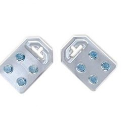 Pair of Sky High Car Audio Any GA (4) Spot Best Flat Battery TERMINALS Bolt USE ONLY At Amazon