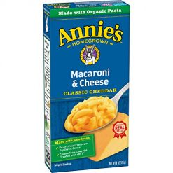 Annie's Mac and Cheese, Annie's Classic Mild Cheddar Macaroni & Cheese, 12 Boxes, 6oz (Pack of 12)