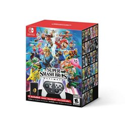 Super Smash Bros. Ultimate Bundle, Special Edition - Nintendo Switch (Console Not Included) by Nintendo