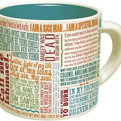 The Unemployed Philosophers Guild, First Lines Literature Coffee Mug - The Greatest Opening Lines Of Literature, From Anna Karenina to Slaughterhouse Five - Comes in a Fun Gift Box - by The Unemployed Philosophers Guild
