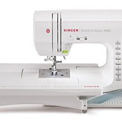 New Home Sewing Machine, SINGER | Quantum Stylist 9960 Computerized Portable Sewing Machine with 600-Stitches Electronic Auto Pilot Mode, Extension Table and Bonus Accessories, Perfect for Customizing Projects