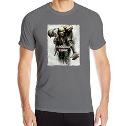 Men's Movie Hacksaw Ridge Poster Jogging Shirt